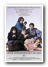 The Breakfast Club (1985) 24x36 Poster Print Classic 80s Teen High School Movie
