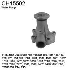 Compatible With John Deere Ch15502 Water Pump 650750yanmar 169 180 186 187