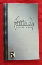 Arc the Lad Twilight of the Spirits Sony PlayStation 2 Manual and Cover Art