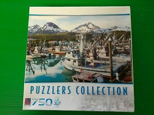 Jigsaw 750 piece The Fishing Harbour