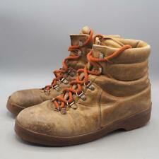 Vintage Ratty Italian Leather Hiking Walking Boots Size 7.5