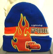 CARS youth knit hat Lightning McQueen cap Disney skullcap Pixar beanie 2006