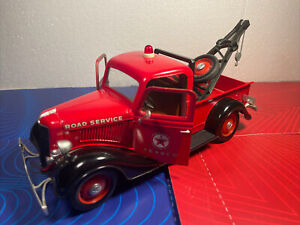 Vintage Solido Ford V8 Texaco Wrecker Tow Truck 1/19 Diecast Toy/Model Rescue