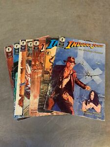 Indiana Jones Dark Horse Comics Collection Seven Issues
