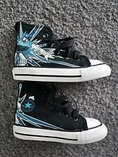 **NEAR-NEW** CONVERSE Chuck Taylor All Star Robot Ox Toddler High Tops (size 4)