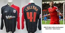 2006-07 Adam Lallana Match Worn Southampton Away Shirt from Debut Season (11742)