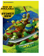 Teenage Mutant Ninja Turtles Loot Bags Birthday Party Supplies Pack of 8