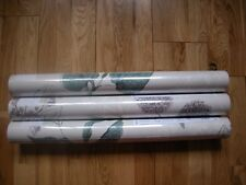 NEXT TEAL HEDGEROW BOTANICAL Wallpaper  x 2 Rolls GOES cushion, curtains,bed set