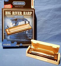 NEW HOHNER BIG RIVER HARP HARMONICA KEY OF C NEW IN BOX