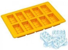 10 Lego Shape Ice Bricks Cube Cubes Silicone Tray Big Mold Mould Fridge Freezer