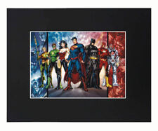 Marvel Superheroes 8x10 matted Art Print Poster Decor picture Photograph