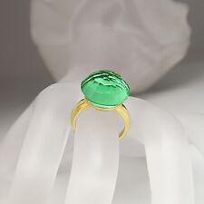 Labriola Ring mit syth. Turmalin Stein in 750/18K Gelbgold UVP. 450.-€ Gr. 53