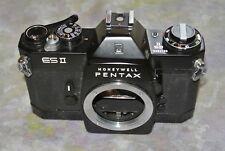 M42 Asahi Pentax spotmatic ES II 35mm SLR Film Camera Black Body