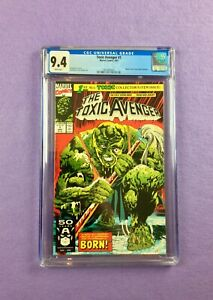 The Toxic Avenger (1991):  CGC 9.4 (NM)!  Based on Troma Movie Character!