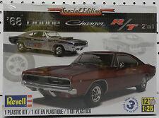 1968 DODGE CHARGER STOCK DRAG RACE R/T SCAT PACK BOYS MOPAR NOS REVELL MODEL KIT