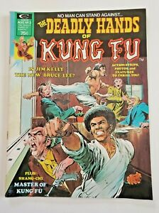Deadly Hands of Kung Fu issue 3 Marvel 1974 Shang-Chi