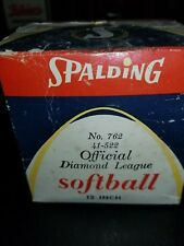 Sealed Spalding Softball in box No 762 12 inch