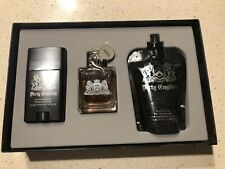 ORIGINAL VINTAGE FORMULA DIRTY ENGLISH BY JUICY COUTURE 3PCS GIFT SET  FOR MEN