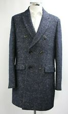 Men's Unbranded Double Breasted Navy Blue Coat (M).. Sample 5941