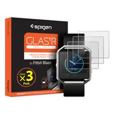 Spigen® For Fitbit Blaze [GLAS.tR.SLIM] Tempered Glass Screen Protector [3PK]