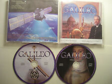 DAVID EDNAM Galileo: Complete Soundtrack Of Musical 2010 French 2 x CD Set RARE