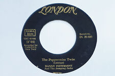 "DANNY PEPPERMINT AND THE JUMPING JACKS -The Peppermint Twist- 7"" 45"