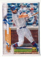 PETE ALONSO 2020 TOPPS UPDATE CLOTH PATCH BOXLOADER NEW YORK METS