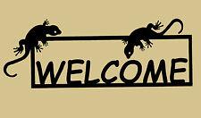 Lizard,Gecko,Gift,Home,Metal Art,Welcome Sign,Cactus,Desert,Southwest decor