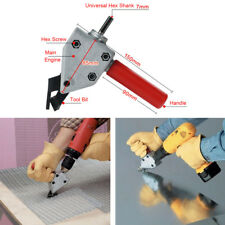 Nibble Metal Cutting Sheet Nibbler Saw Cutter Tool Electric Drill Scissors