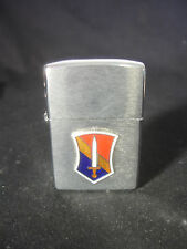1997 Zippo Cigarette Lighter USA Military US Army Sword Insignia Bradford PA USA