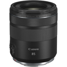 A - Canon RF 85mm f2 Macro IS STM Lens