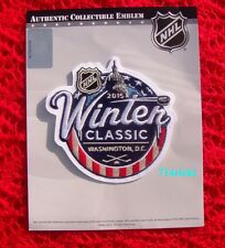 Official NHL 2015 Winter Classic Patch Chicago Blackhawks vs Washington Capitals