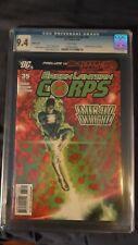 Green Lantern Corps 35 CGC 9.4 Migliari variant Tomasi Gleason Sinestro Guy Kyle