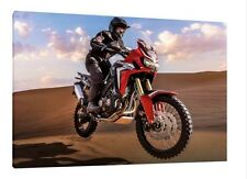 2017 Honda Africa Twin - CRF1000L - 30x20 Inch Canvas Framed Picture Print