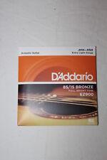 D'ADDARIO Jeu Cordes Guitare acoustique Extra Light Gauge .010 -.050 85/15 EZ900