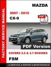 automotive pdf manual ebay stores rh ebay com service manual mazda cx-9 2007 Mazda CX-9