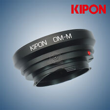 New Kipon Adapter for Olympus OM Lens to Rangefinder Liveview Leica M Camera