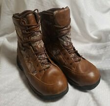 """Danner Pronghorn 8"""" Realtree Xtra 400G Thinsulate Ultra Insulated Boots Size 12D"""