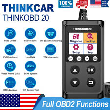 Automotive FULL OBDII Scanner Code Reader Car Engine Smog Check Diagnostic Tool