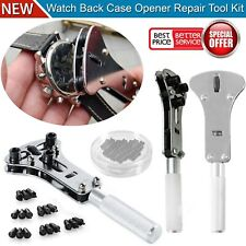 Adjustable Opener Watch Tool Remover Back Case Wrench Cover Watchmaker Repair UK