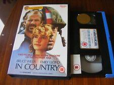 IN COUNTRY BRUCE WILLIS- EMILY LLOYD BIG BOX RARE VHS UK VIDEO 1990 FREE P+P