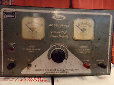 Power Supply Transco Communication Equip. Vintg. Electro Model Ps-30 Filtered Dc