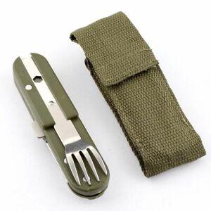 Opener Cutlery Spork Fork Fork Spoon Camping Flatware Outdoor Tableware Spoon