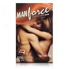 1 PACK MANFORCE CHOCOLATE FLAVOURED EXTRA DOTTED CONDOMS 20 PCs IN EACH PACK