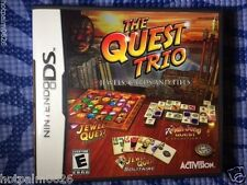 Quest Trio: Jewels, Cards and Tiles (Nintendo DS, 2008)