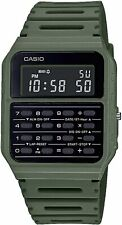 Reloj para Hombres Casio Vintage nervioso con calculadora Verde CA-53WF-3BEF