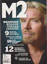 M2 Magazine Australia #12 July August 2011, BRANSON BILLION DOLLAR LESSONS.