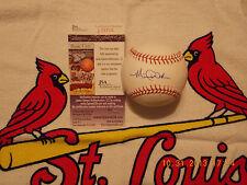 Michael Wacha autographed Rawlings MLB Baseball -2013 NLCS MVP!!!