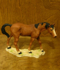 "Castagna Horse Figurines #231M Brown Mare, 5"" x 6.75"" Made in Italy, New/Box"
