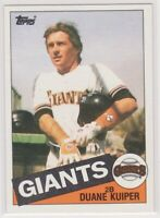 1985 Topps DUANE KUIPER - Baseball Card # 22 - SAN FRANCISCO GIANTS ANNOUNCER